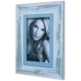 Porta Retratos De Mesa Para Foto 10x15 Cm Cozumel Azul