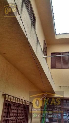 Imagem 1 de 1 de Sobrado Com 4 Dormitórios À Venda, 125 M² Por R$ 480.000,00 - Vila Amorim - Suzano/sp - So0071