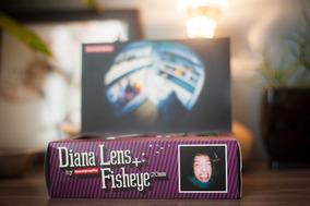 Lente Fisheye Diana F+ Lomo Lomography