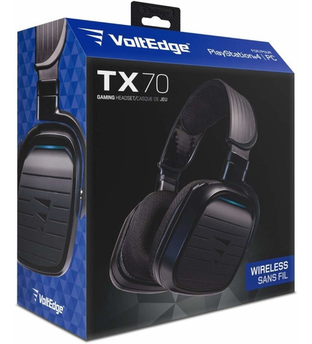Headset Wireless Tx-70 Ps4 Voltedge( Garantía De Por Vida )