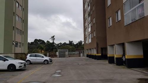 Apartamento Com 3 Dormitórios Para Alugar, 61 M² - Granja Viana - Cotia/sp - Ap0954