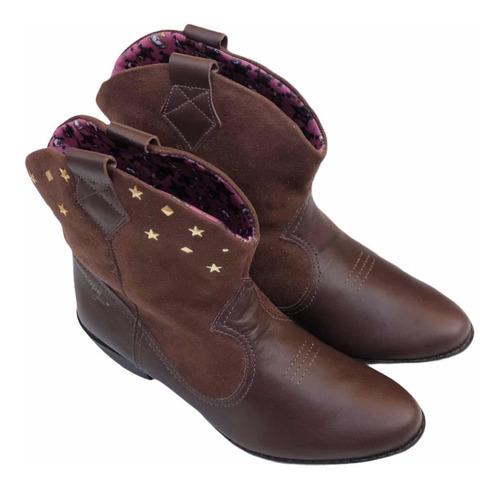 Botas Cowboy De Cuero