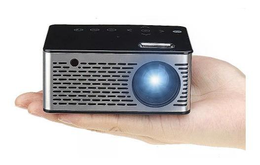 Mini Projetor Led Usb - Micro Sd - 600 Lumens 400:1 320*240p