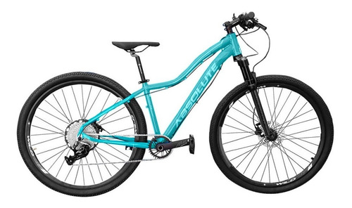 Imagem 1 de 4 de Bicicleta Feminina Hera Absolute 12v 29 Verde 15,5