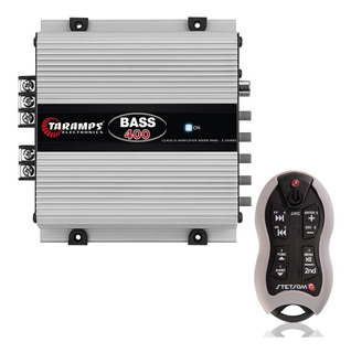 Módulo Bass 400 400w Rms 2 Ohms 1 Canal Taramps + Controle
