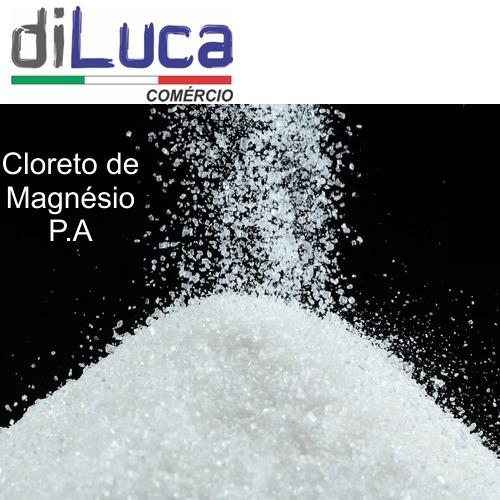 Cloreto De Magnésio Pa Laudo Fabricante 10kg