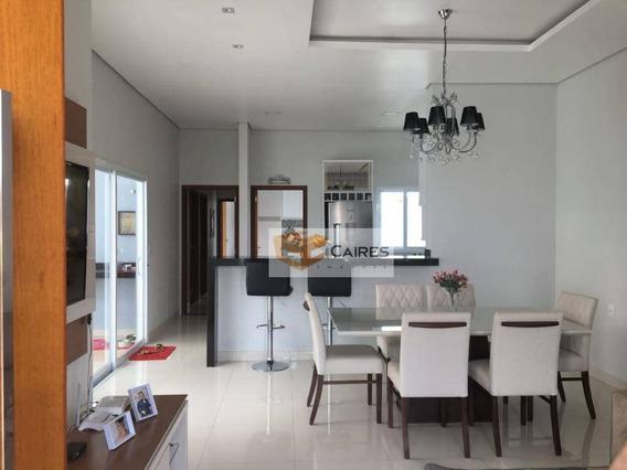 Casa Com 3 Dormitórios À Venda, 140 M² Por R$ 580.000 - Parque Das Laranjeiras - Cosmópolis/sp - Ca2686