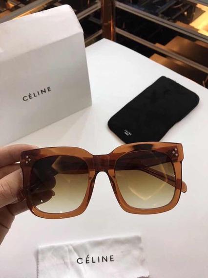 Óculos Celine Kim Croco Original Importados