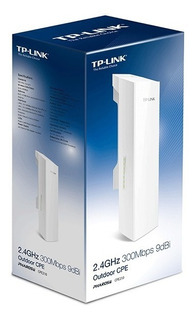 Repetidor Tp Link Cpe 210 Exterior Tp-link Cpe210 2,4 Ghz