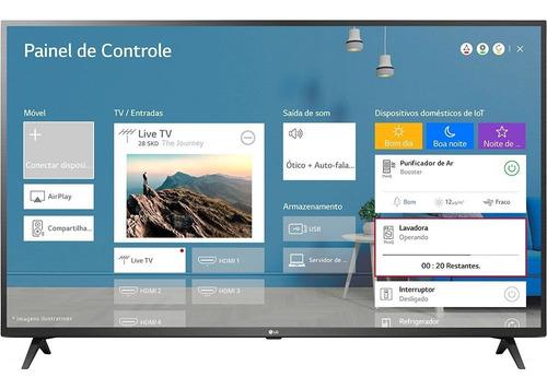 Imagem 1 de 9 de Smart Tv LG Ai Thinq 65un7310psc Led 4k 65  100v/240v