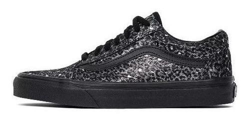 Zapatillas Vans Old Skool Metallic Leopard Black | Mercado Libre