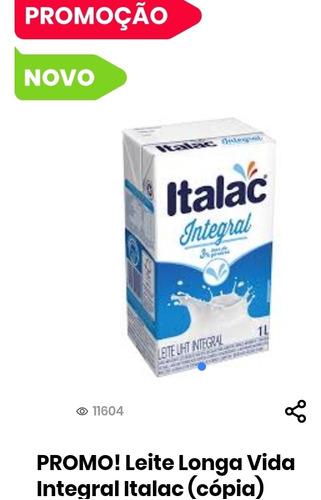 Leite Longa Vida Italac Intregal.