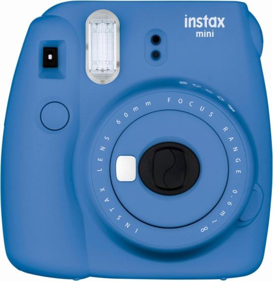 Fujifilm - Instax Mini 9 Instant Film Camera - Cobalt Blue