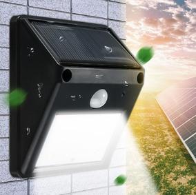 Luz Energia Solar Com Sensor Movimento Casa Jardim Outdoor
