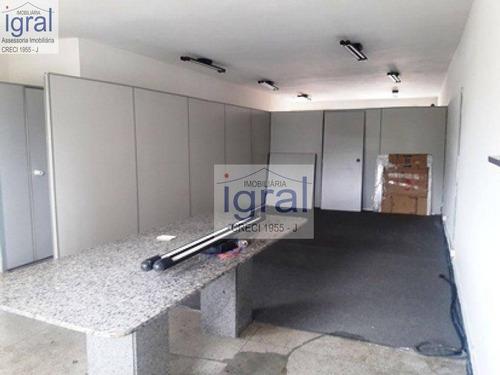 Imagem 1 de 9 de Sala Para Alugar, 110 M² Por R$ 3.000,00/mês - Vila Guarani (zona Sul) - São Paulo/sp - Sa0008
