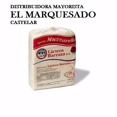 Mozzarella Barraza Plancha Blanca X 100  Kg Marquesado,cast.