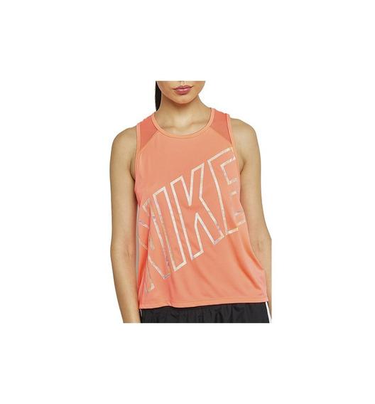 Remera Nike Running Miller Activewear Top Sz S