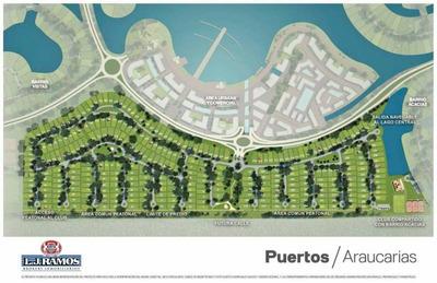 Terrenos O Lotes En Venta En Puertos - Barrio Araucaurias - Ramal Escobar Km 45 - Lote 164 - Al 100 En Belén De Escobar