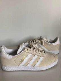 Tênis adidas Gazelle Creme Original