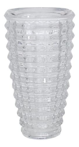 Vaso Em Vidro Incolor | 15 Larg X 29 Alt X 15 Prof