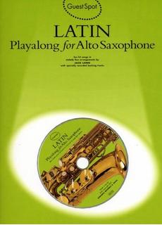 Gs Latin Playalong A/sax+cd: Playalong For Alto Saxophone (