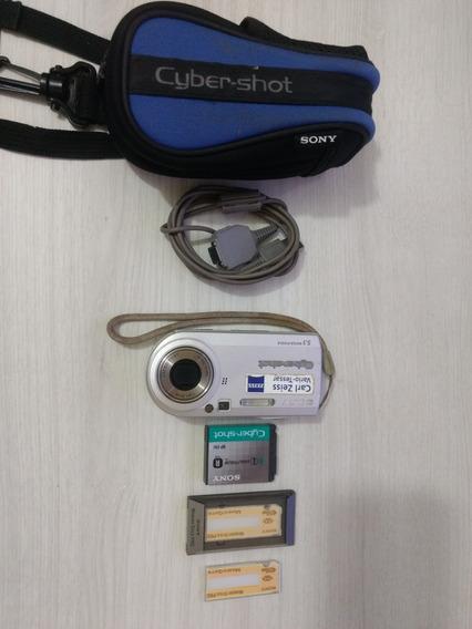 Sony Dsc-p100 Cyber-shot (sem Carregador Da Bateria)