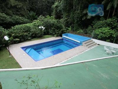 Casa Venda E Locação-condomínio Tijucopava- Praia De São Pedro, Guarujá. - Ca0433