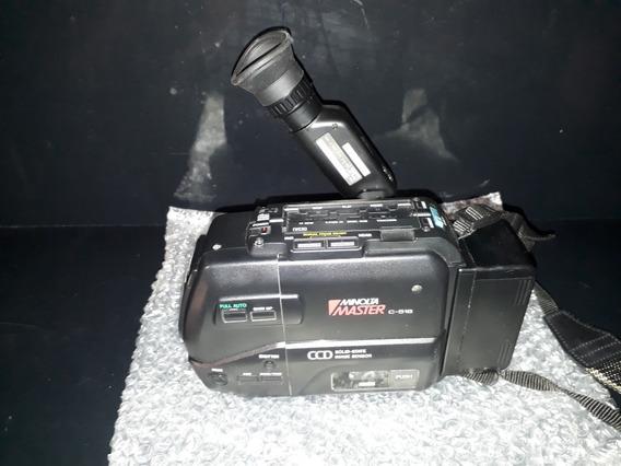 Filmadora Antiga Minolta Master C-516 Ccd Não Sony Leica Pio