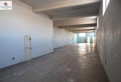 Galpão/pavilhão A Venda No Bairro Freguesia Do Ó Em São - Jv663-1