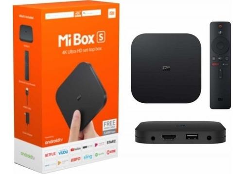 Xiaomi Mi Box S 4k Version Global -stock- Entrega Inmediata