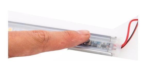 Perfil Tira Led 30 Cm Encendido Tactil Touch Completo