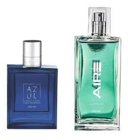 Combo Perfumes Jequiti Cauã Reymond Azul + Aire Altitude