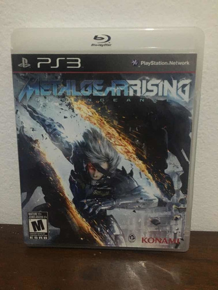Metal Gear Rising Ps3 Mídia Física Envio Imediato