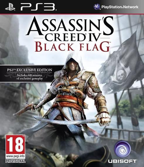 Assassins Creed Black Flag / Ps3 Portugues Psn Original