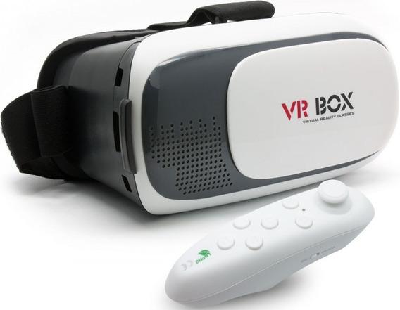 Gafas 3d Realidad Virtual Avanzada Vr Pro Box Con Control
