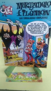 Mortadelo Y Filemon Las Embajadas Chifladas Comlc