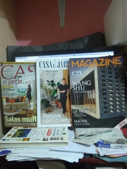 Revista Casa E Jardim 11 Und. Oferta 100 Reais.