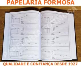 Livro De Otica Registro De Receita De Ótica 100 Fls