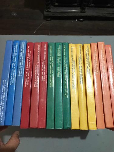 Imagem 1 de 5 de Livro Clássicos Disney 15 Volumes