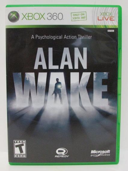 Alan Wake - Game Xbox 360 Completo E Original Mídia Física
