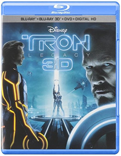 Blu-ray 3d : Tron: Legacy (3d) (with Blu-ray, With Dvd, 3...