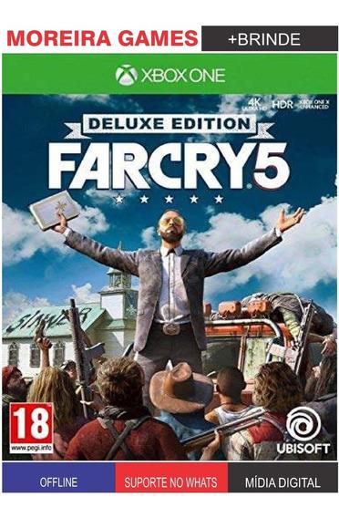 Far Cry 5 Delux Xbox One + Brinde
