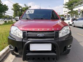 Ford Ecosport Xls 1.6 Flex Vermelha Completa Ano 2008