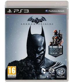 Game Ps3 Batman Arkhan Origins - Original - Novo - Lacrado