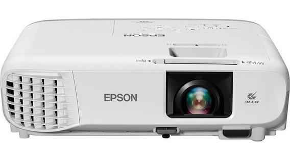 Projetor Epson S39 3300 Lumens Svga Hdmi Branco