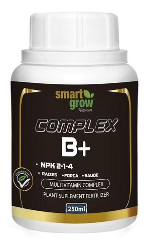 Imagem 1 de 5 de Fertilizante Smartgrow  Complex B+ 250ml Mais Saúde