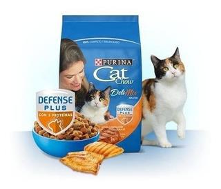 Alimento Croquetas Gato Adulto Cat Chow Delimix 15kg
