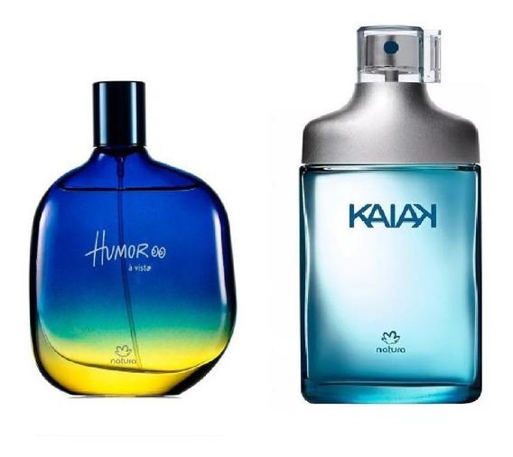 Combo Perfumes Masculinos Natura: Humor A Vista + Kaiak