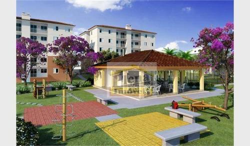 Imagem 1 de 4 de Apartamento  Residencial À Venda, Parque Villa Flores, Sumaré. - Ap0450