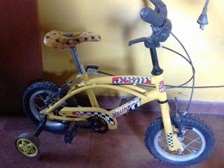 Bicicleta Rodado 12.